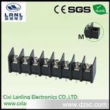 栅栏式接线端子 开关电源接线35-8.25 黑色显示屏用