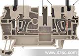 德国魏德米勒  WEIDMULLER  ZDU弹片式接线端子