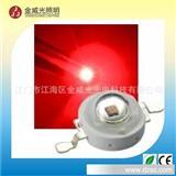 大功率LED 1W 红光 警示灯 车尾灯 交通灯