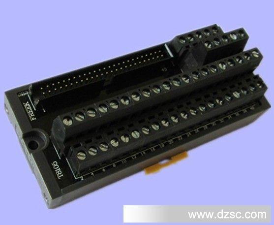 伺服驱动器接线50P端子台可搭配多种PLC 替代T064 包邮