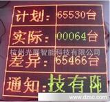 LED计数|流水线生产看板|万年历时钟|电子看板|工厂管理显示屏