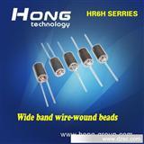 厂家直销 3.5*8*0.8 单孔磁珠、穿心磁珠电感