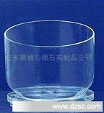 各种规格的石英玻璃坩埚