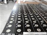 专业生产高导LED铝基板单面铝基板,3528 12串10并 120灯