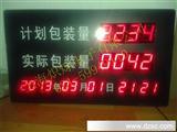 车间流水线计数器/电子看板显示屏/LED计数电子屏LED数码管计数器