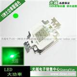 10W翠绿灯珠 10瓦 10W翠绿LED集成大功率  超高亮 原装正品