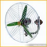 厂家直销 挂墙式 3档调速 牛角扇 650mm双碟牌强力电风扇 直流风