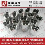 2100V.AC 2+2插端 CH86型油浸复合微波炉电容器