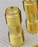 SMA母对母/SMA直通 外螺内孔/内螺内针 射频同轴连接器 RF转换接头 铜镀金