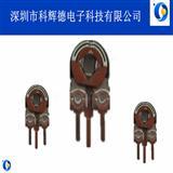 KHD083微调可变电阻1M立式方孔型侧调碳膜铁壳可调电阻