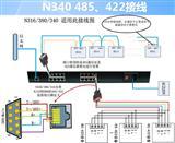 16口RS485/422机架式串口联网服务器