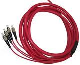 厂家 12芯铠装跳线 光纤快速耐高温活动跳线特价加工