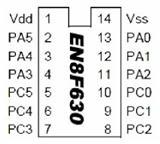 EN8F630与PIC12F630兼容,智能照明方案IC
