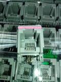 全新环保正品RJ45 RJ11网口插座 电话机座 网络水晶头插座4芯 4P4C