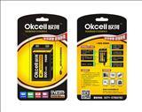 欧荷9V电池/oksell9v可充电电池/USB充电
