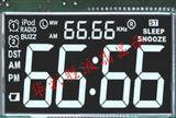 华彩胜生产定制IPOD插卡音箱VA黑膜LCD液晶显示屏