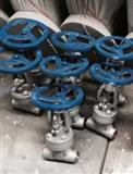 L61H-40C铸钢对焊式节流阀