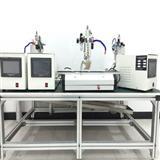 LED极细同轴线焊接机 极细线束热压焊机