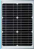 10W太阳能电池组件