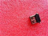 连接器USB母座AF母座A母大4PIN90度弯脚全铜卷边
