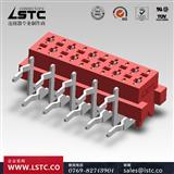 Micro-Match 215460 红色IDC排线 联索公座刺破式连接器 加工