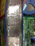 TF掀盖式卡座/DIN导轨适配器连接器卡座/现货