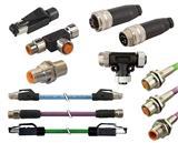 【思大】M12连接器/M12屏蔽插头/M12弯头连接器
