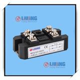 大功率电磁炉节能机芯专用单相桥 LJ-MDQ75A1600V 整流桥模块柳晶
