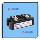 浙江柳晶 LJ-MDQ100A1600V 整流桥模块适用于仪器设备的直流电源