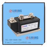 浙江柳晶单双向可控硅模块晶闸管模块 LJ-MTX500A1600V 防反二极管柳晶制造