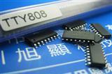 8键电容式触摸开关IC TTY808防水抗干扰8通道BCD码输出芯片