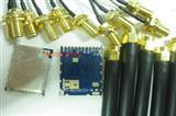 CC1101+PA无线数传模块CC1101RTKR原装进口433M远距离射频RF模块
