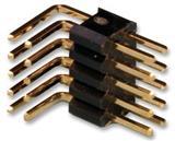 FCI 20021112-00010T4LF  板至板连接, 直角连接器 通孔安装, 针座, 10, 1.27 mm, 镀金触芯