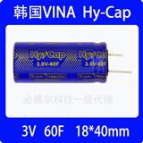 3V 60F韩国VINA TECH法拉电容 超级电容/VEC3R0606QG