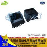 RJ45 10P10C 全塑 网络连接器