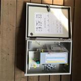 室内外壁挂式光分路器箱1分16/1分32光分箱光纤楼道箱光纤配线箱分纤箱