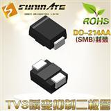 SMB10J5.0A 单向 TVS管 / TVS瞬变抑制二极管/瞬态抑制管/瞬变二极管/瞬态抑制二极管 1000W 5V/抗浪涌TVS