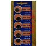Sony索尼CR1220纽扣电池5粒卡装