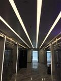 高档写字楼超市LED照明工程灯具时尚长条吊线工作室办公书房吊