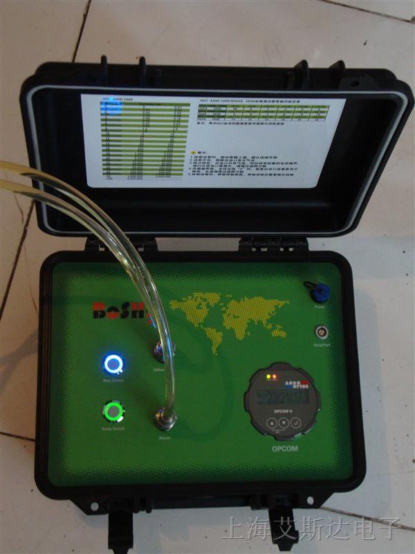 0  本产品为一种实用新型的便携式颗粒度检测仪,使用本产品能及时掌握