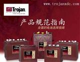 美国邱健(TROJAN)电动车蓄电池T-105启动型电池