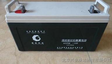 供应银泰蓄电池 6GFM-100 12V,100AH阀控密封铅酸蓄电池