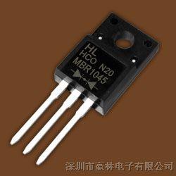 肖特基二极管MBR1045     TO-220F   价格优势,欢迎咨询