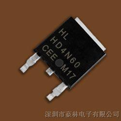 MOS管HD4N60  TO-252  价格优势,欢迎咨询