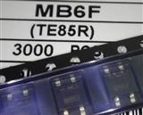 超薄桥堆 整流桥 MB6F SOP4 0.5A 600V SEP正品