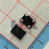 贴片陶瓷振荡器 75MHZ 有源晶振 1.8V-3.3V SIT8008AI 黑色面4P石英晶振