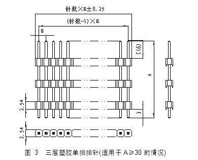 排针连接器内部结构