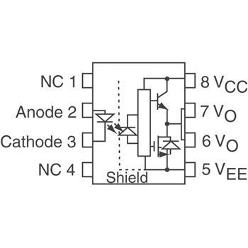 HCPL-3120-000E外观图