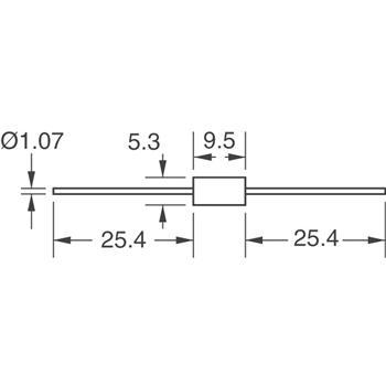 1.5KE250CA-B外观图