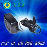 12V1A电源适配器,通过CCC CE UL PSE FCC